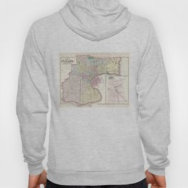 Vintage Map of Newark NJ (1872) Hoody