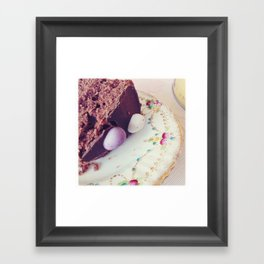 Afternoon tea. Framed Art Print