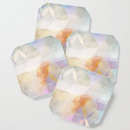 Gamma - Contemporary Geometric Circles Coaster