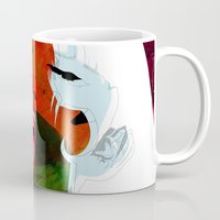 erotic Mugs featuring Kiss by Alvaro Tapia Hidalgo