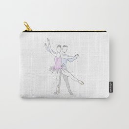Ballerina Couple Carry-All Pouch