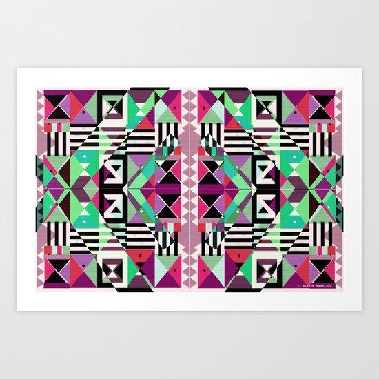 Crazy Eights Art Print