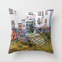Trap House Throw Pillow