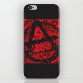 The Great (Anarchy) Seal iPhone Skin