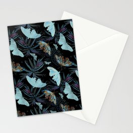 TROPICAL NIGHT LIFE Stationery Cards