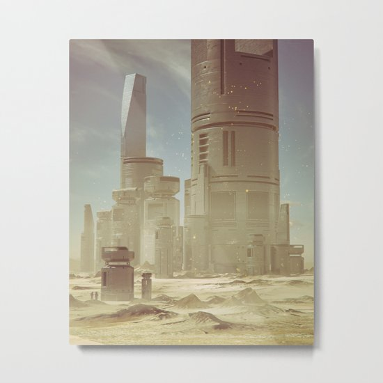 RECOTR.STATION6.00  (everyday 03.06.16) Metal Print