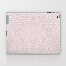 Art Deco Pink and Silver Laptop & iPad Skin