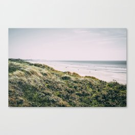 Dune and Touquet Beach Canvas Print