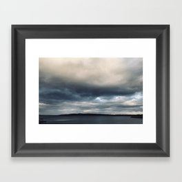 The sky is falling Framed Art Print