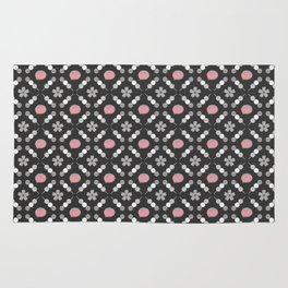 Hanami Nummies | Black Sakura Rug