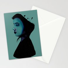 Night Girl Stationery Cards