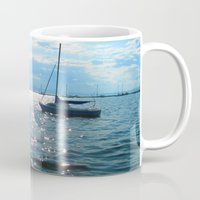 sailing Mugs featuring Sailing by Rene Robinson