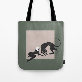 Panther Woman Tote Bag