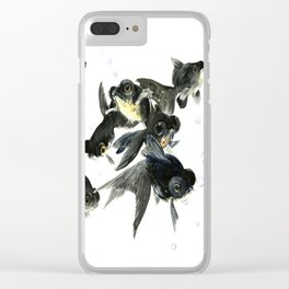 Black Moor Clear iPhone Case