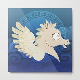Silly Beasty : Pegasus Metal Print