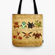 The Book of Dragons Tote Bag