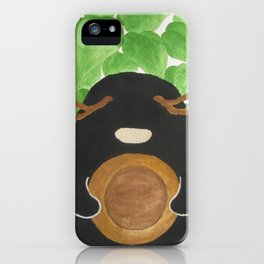 COURAGE #02 iPhone Case