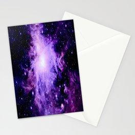 Orion nebUla. : Purple Galaxy Stationery Cards