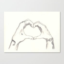Love, Harry and Louis Canvas Print