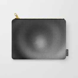 B&W Particle Spiral Carry-All Pouch