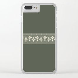 La jupe et le béret Clear iPhone Case