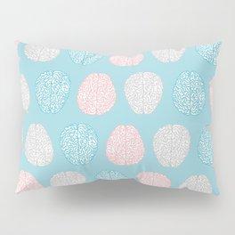 Pastel Brains Pattern Pillow Sham