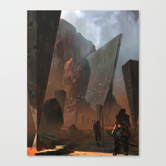 The Ancients Canvas Print