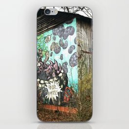 graffiti barn iPhone Skin