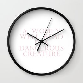 dangerous creature Wall Clock