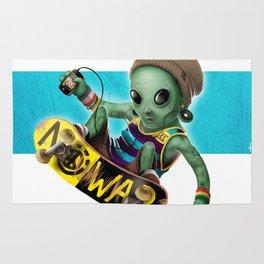 Area 51 Skate Park Rug