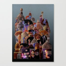 The city of Diomira Canvas Print