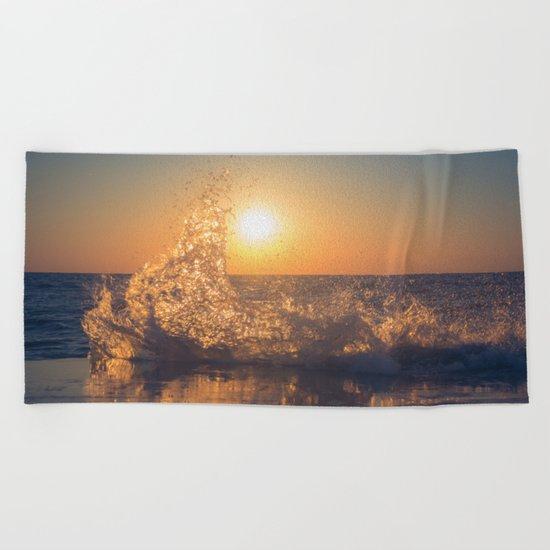 Say Goodbye Beach Towel
