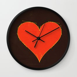 Love Handles Wall Clock