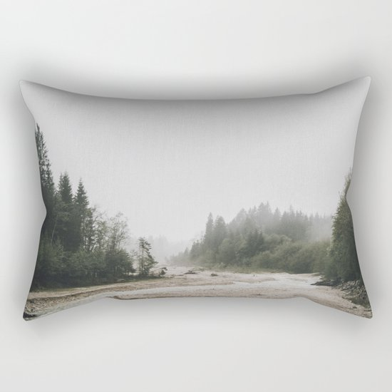 Riverside landscape photography Rectangular Pillow