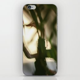Dancing people, dance, shadows, hands and plants, blurred photography, dancer, forest, yoga iPhone Skin