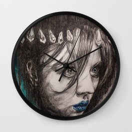 Eyes on you    BY.Davy Wong Wall Clock