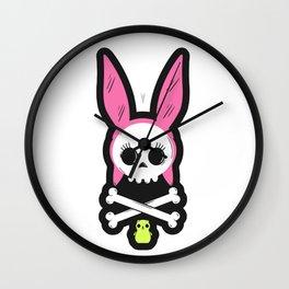 Skull Louise Wall Clock