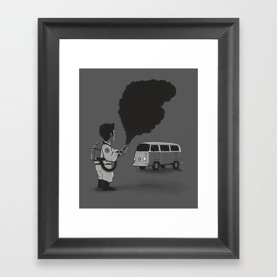 Smokebuster Framed Art Print