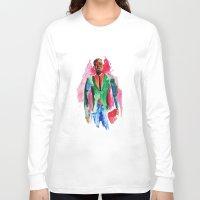 the dude Long Sleeve T-shirts featuring Dude by Anastasiya  Tcapko