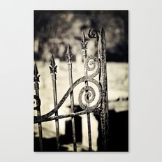 Rusted Whimsy Canvas Print