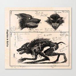 Flegellum de Bestia: Scourge Beast Canvas Print