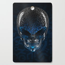 Alien Skull Cutting Board