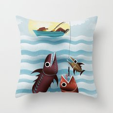 No Time to Relax Throw Pillow