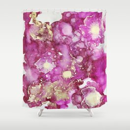 P I N K S P L O S I O N Shower Curtain
