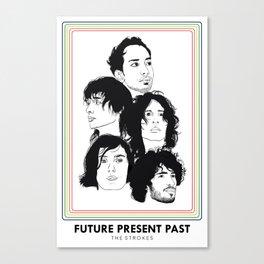 The Strokes: Future Present Past Canvas Print