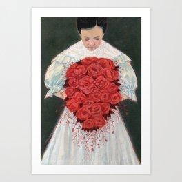 Blood Wedding Art Print