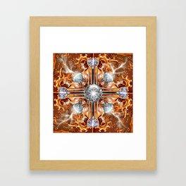 The Sun God Framed Art Print