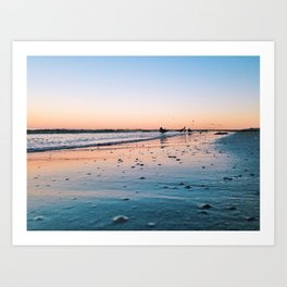 Ft Myers Beach Art Print