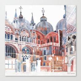 Basilica San Marco, Venezia Canvas Print