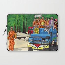 Truckin' Monks Laptop Sleeve